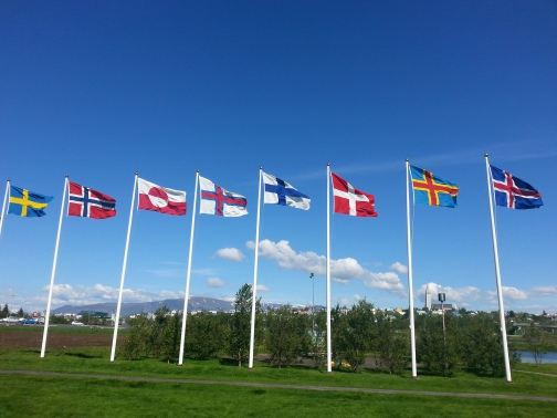nordic house flags