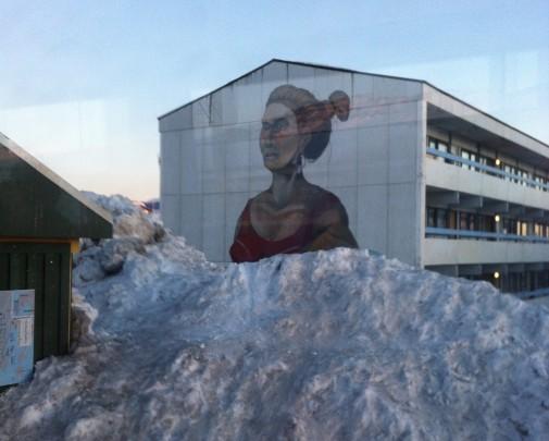 nuuk snowbank