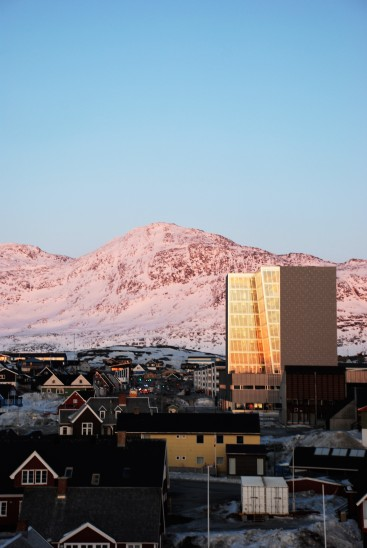Administration Tower in Nuuk [Photo by Mikkel Schøler]
