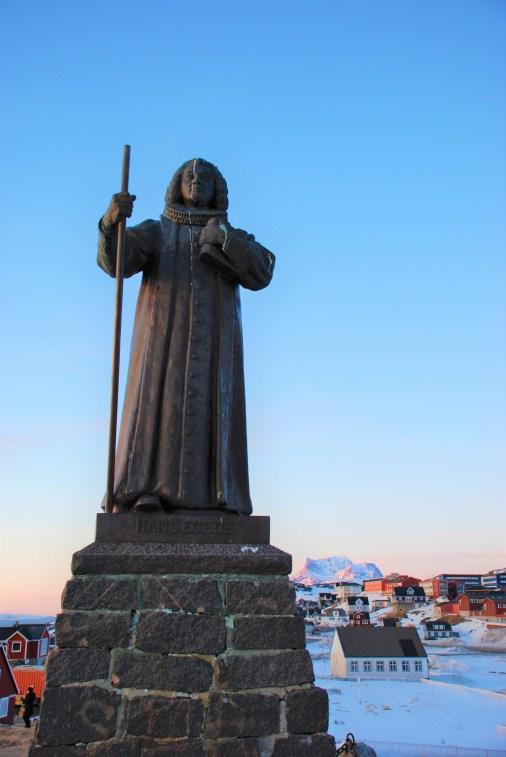 Egede Statue
